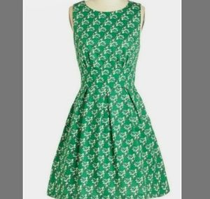 EUC MODCLOTH BIRD DRESS 4X
